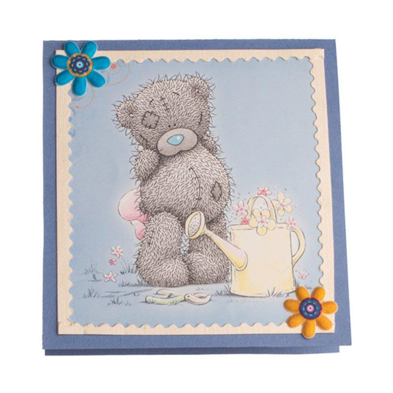 Мишки на открытках 43